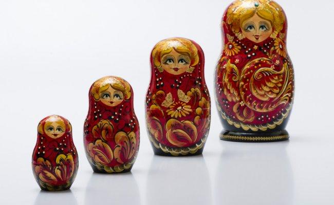 Boneca Russa Pássaro da Felicidade