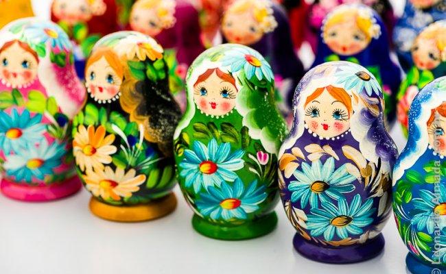 Boneca Russa Bebe