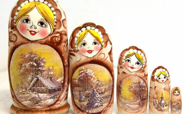 Boneca Russa Inverno