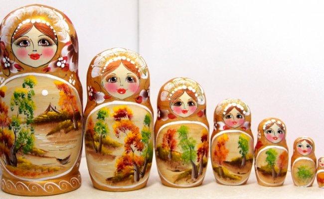 Boneca Russa Outono