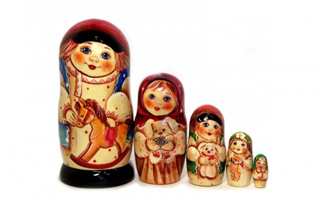 Boneca Russa Semen