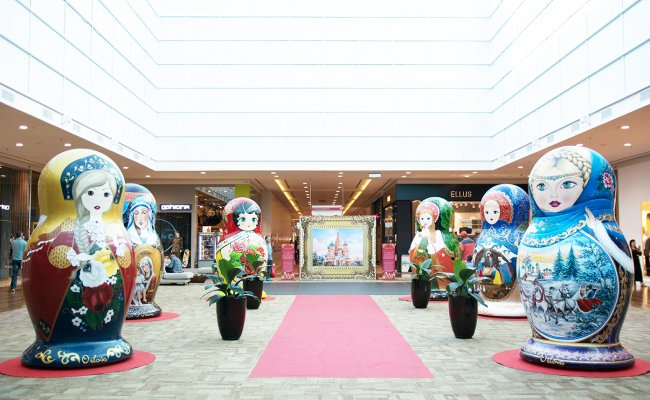 Exposição de Bonecas Russas Gigantes