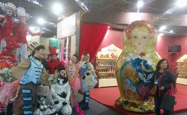 Boneca Russa na AB Casa Fair