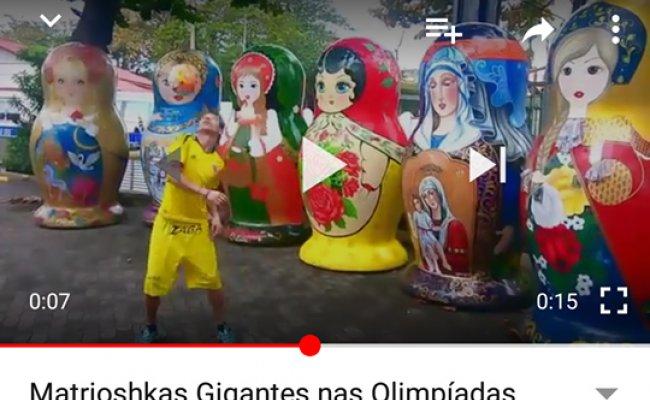 Vídeo: As Matrioshkas, um atleta e uma bola