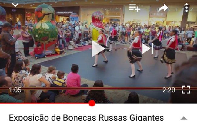 Vídeo Oficial: Exposição Bonecas Russas Gigantes