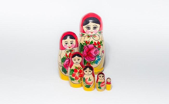 Tradicional - 6 Bonecas