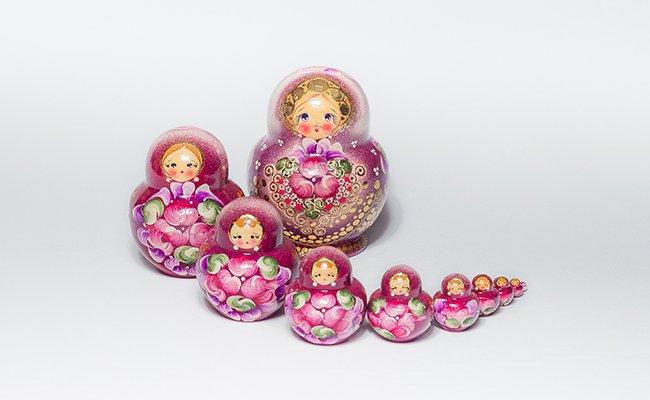 Flores Gold - 10 Bonecas