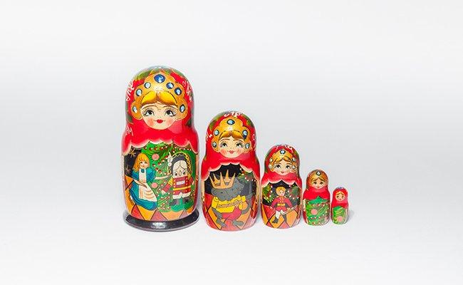 Olga - 5 Bonecas