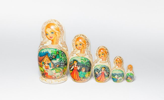 Noiva - 5 Bonecas