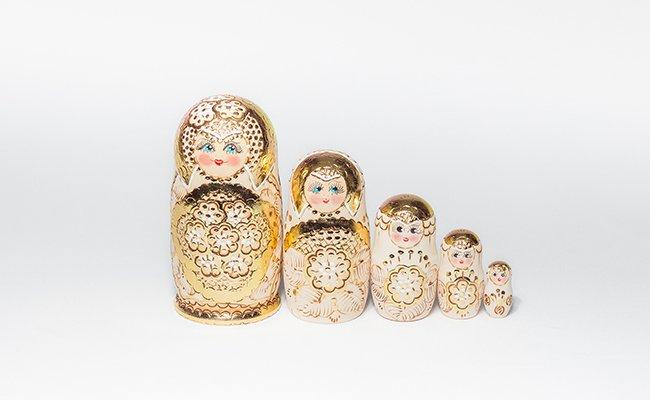 Gold - 5 Bonecas
