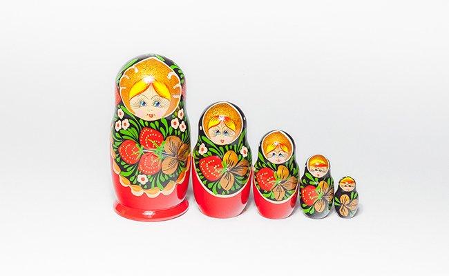 Morango - 5 Bonecas