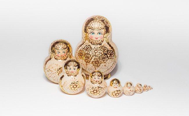 Gold - 10 Bonecas