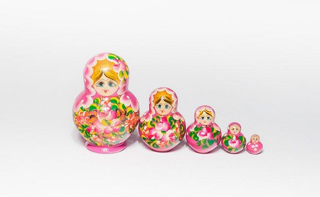 Flores - 5 Bonecas