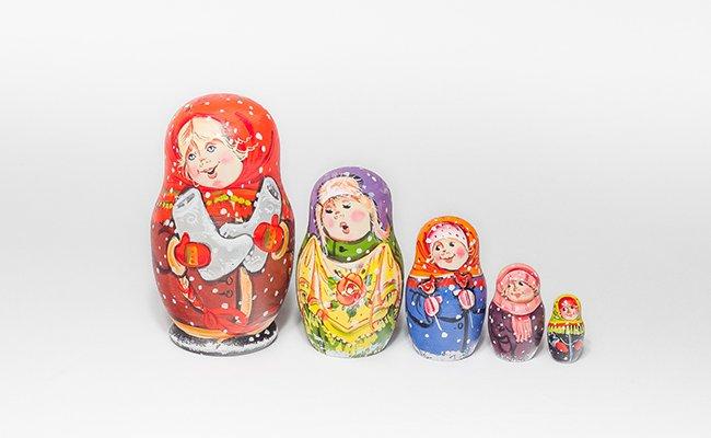 Natal - 5 Bonecas