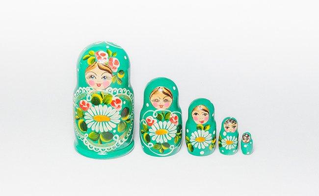 Bebe - 5 Bonecas