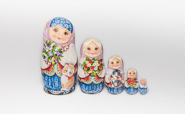 Fosca - 5 Bonecas
