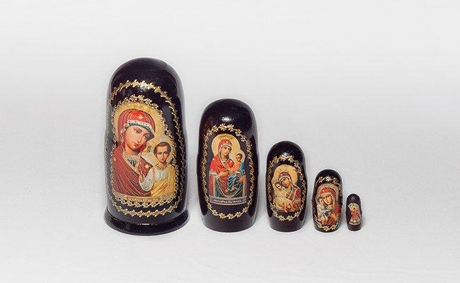 Santa - 5 Bonecas