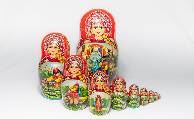 Ludmila - 10 Bonecas