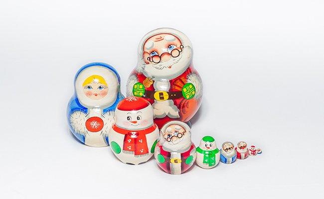 Papai Noel - 10 Bonecas