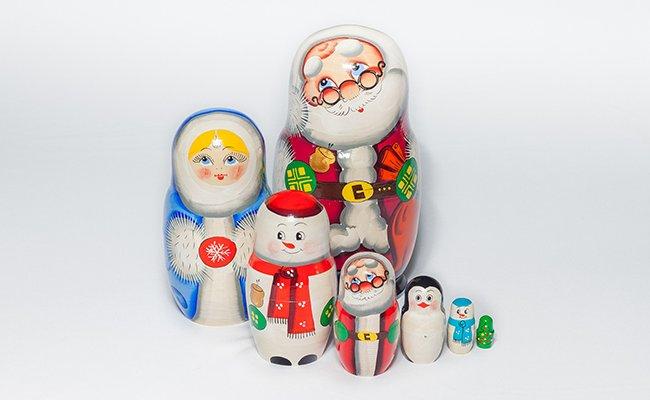 Papai Noel - 7 Bonecas