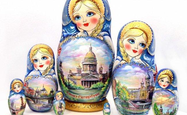 Vip Sankt Peterburg Azul - 7 Bonecas