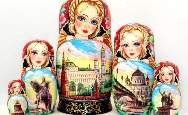 Vip Moscou - 5 Bonecas