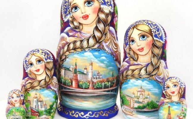 Vip Moscou Azul - 5 Bonecas