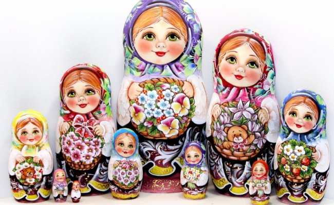 Vip Aniuta - 10 Bonecas