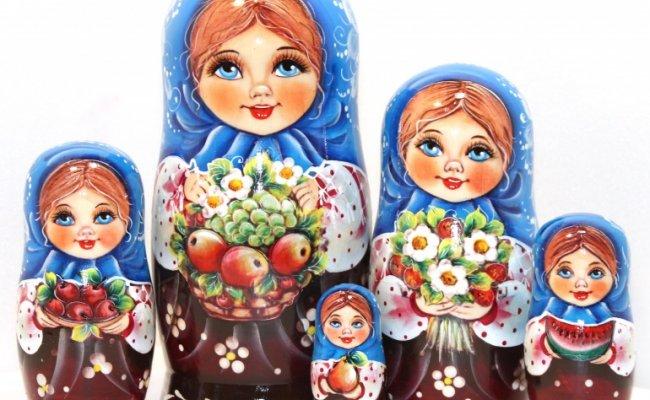 Vip Vika com Frutas - 5 Bonecas