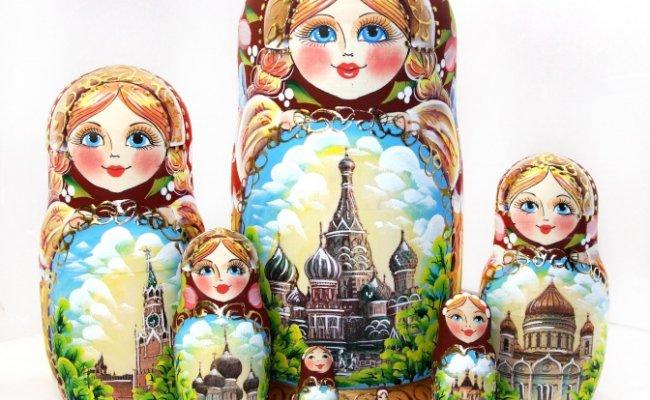 Moscou Cereja - 7 Bonecas