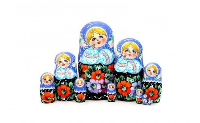 Flores - 10 Bonecas