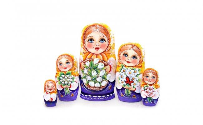 Vip Maria - 5 Bonecas