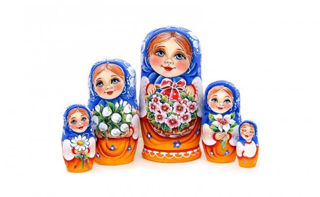 Vip Olga - 5 Bonecas