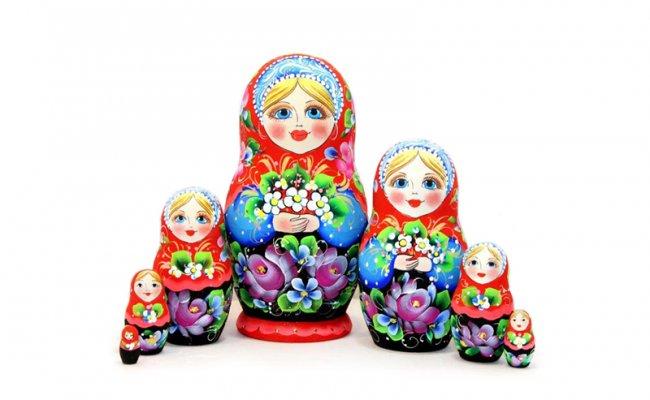 Vip Flores - 7 Bonecas