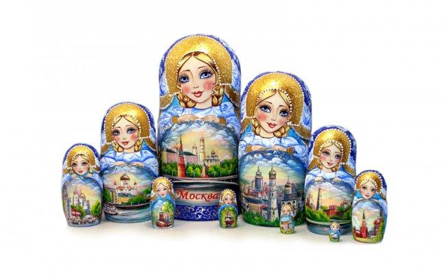 Vip Moscow - 10 Bonecas