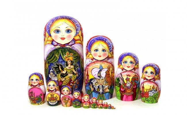 Vip História Galo de Ouro -15 Bonecas