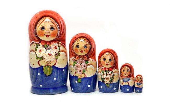 Vip Nastia - 5 Bonecas