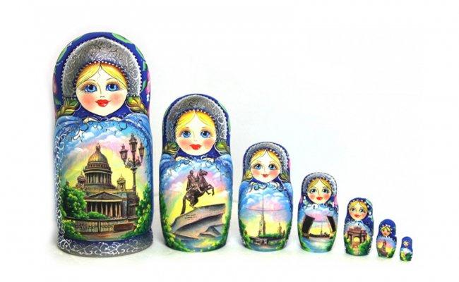 Sankt Petersburg - 7 Bonecas