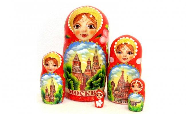 Moscou Vermelha - 5 Bonecas