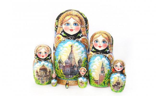 Moscou Preta -7 Bonecas
